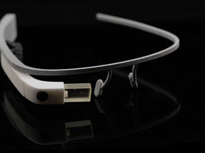 Google Glass Replica Fake MK3 - LIMITED EDITION 3d printed GOOGLE GLASS REPLICA PREMIUM VERSION