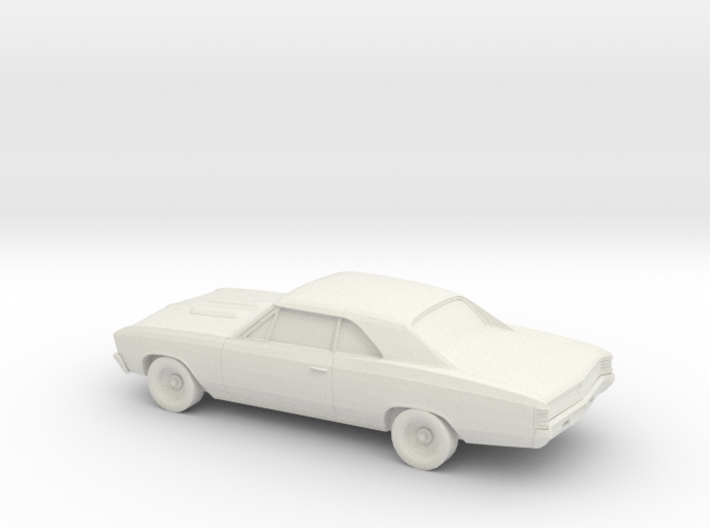 1/87 1967 Chevy Chevelle 3d printed