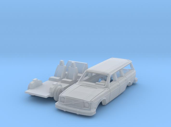 Volvo 245 DL (N 1:160) 3d printed