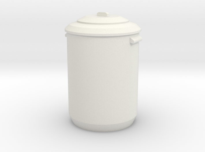 1:48 Garbage Can - Dustbin 3d printed