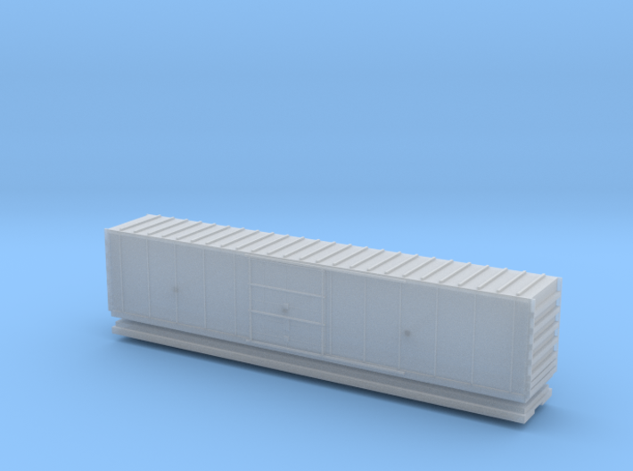 Hy Cube Box Car - Zscale 3d printed