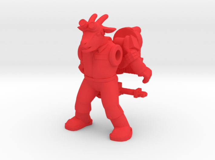 Bray Ghoatbuster Figure (plastic) 3d printed