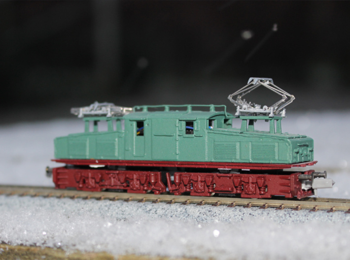 "LEW EL2 ""N"" scale (Top part 1-2) 3d printed"