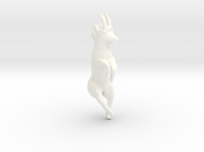 Ibex licking salt 3d printed
