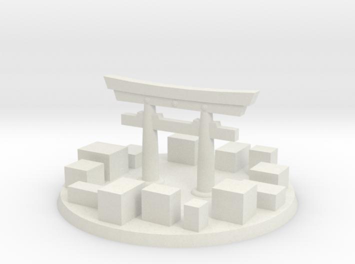 Tokyo City Marker 3d printed