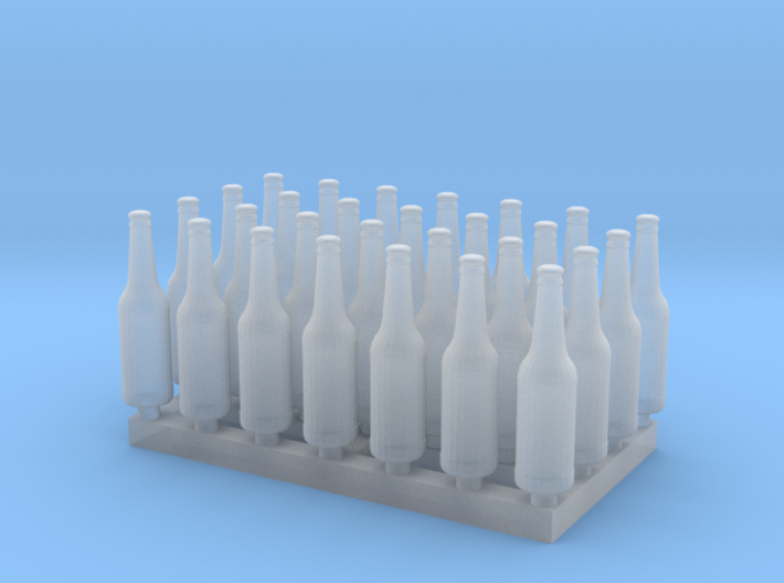 1:35 Beer/Soda Bottle - 28ea 3d printed