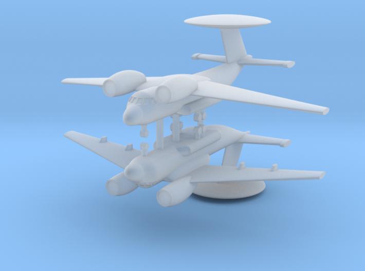 1/600 Antonov An-71 MADCAP (x2) 3d printed
