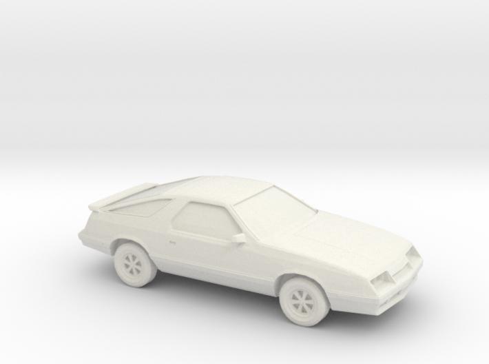 1/87 1984-87 Dodge Daytona/Chrysler Laser 3d printed