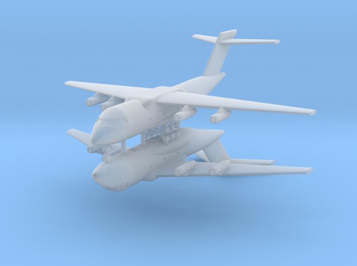 1/600 Xian Y-20 (x2) 3d printed