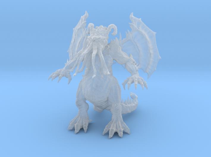 Cthulhu Mini Fig 3d printed