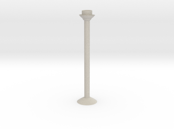 Candlestick H27cm/Kandelaar H27cm 3d printed