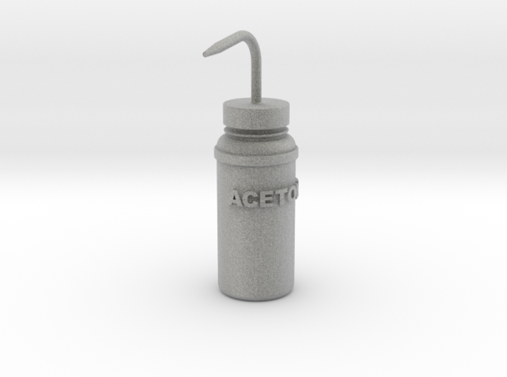 Squirt Bottle 1:7 3d printed