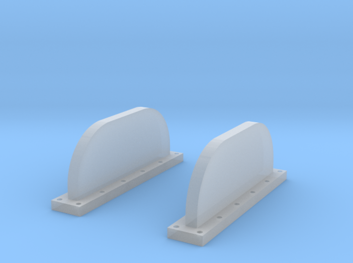 Apollo Scim Anten 1:48 Set of 2 3d printed