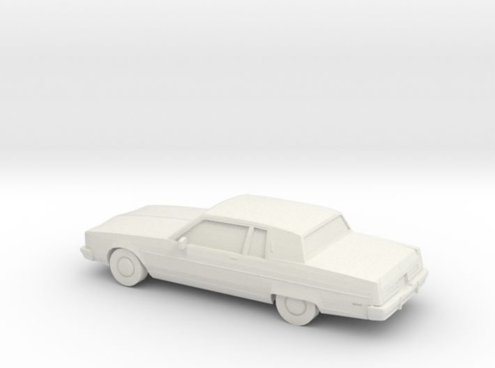 1/87 1980-84 Oldsmobile Regency 98 Coupe 3d printed