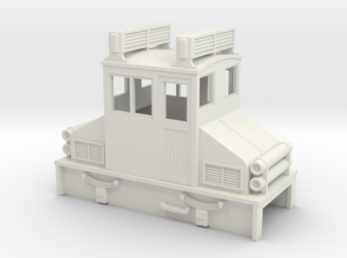 009 early steeplecab IC loco v2 3d printed