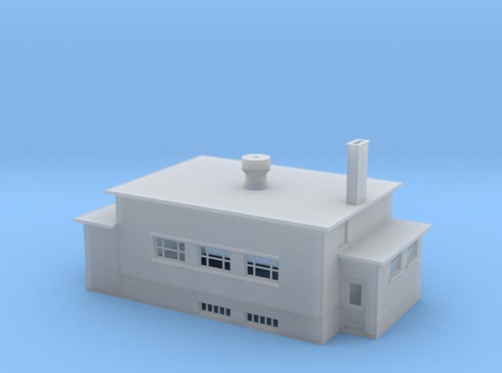 CNR Washago Telegraph Building (N-scale, 1:160) 3d printed