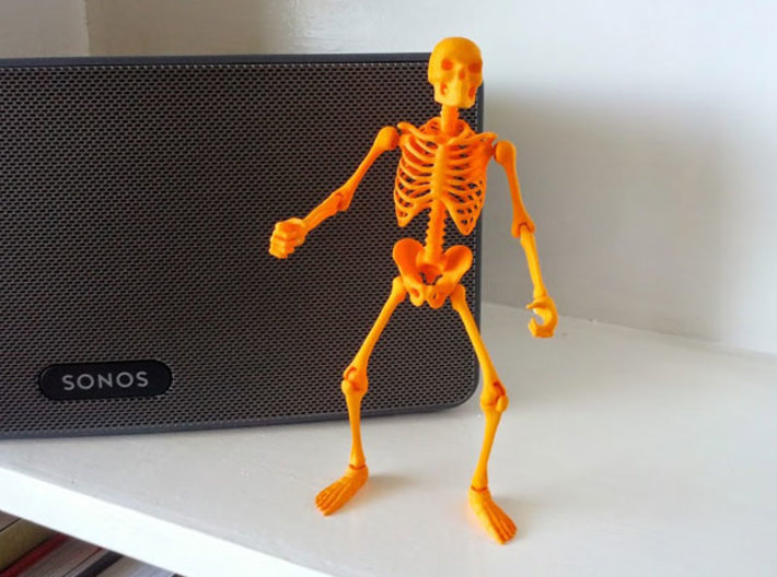 Articulated Skeleton  3d printed