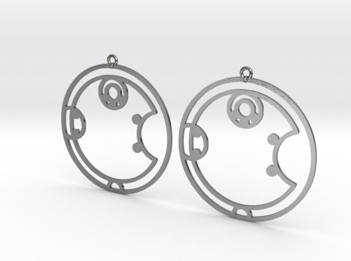 Ashley - Earrings - Series 1 3d printed