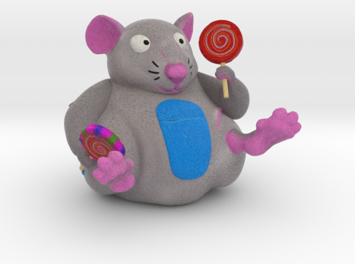 The Candy Mouse 3d printed