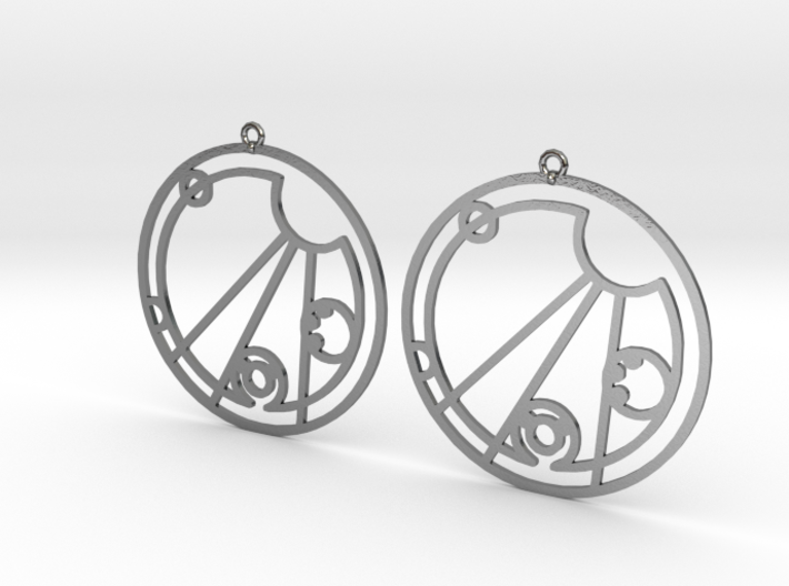 Chelsea - Earrings - Series 1 3d printed