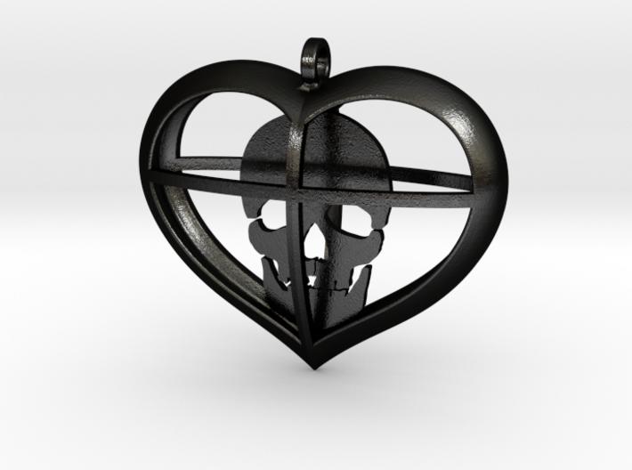 Skull Heart (1) 3d printed