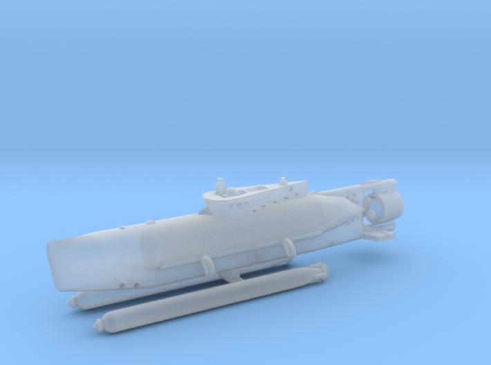 "Type XXVII B5 ""Seehund"" 1/285 6mm 3d printed"