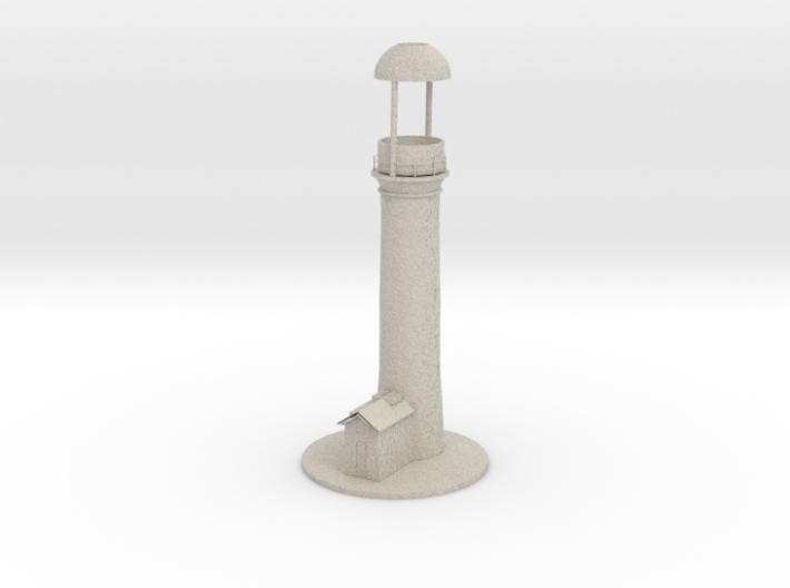 Lighthouse thealight candle holder/Vuurtoren 3d printed