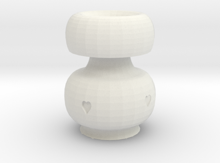 Heart Pot 3d printed