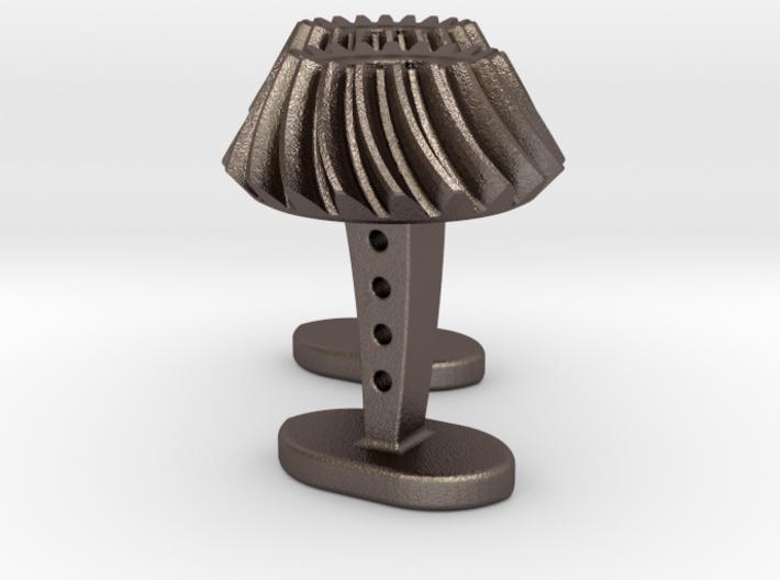 Bevel Gear Cufflinks 3d printed