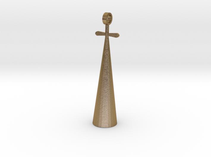 Pharaoh pendant 3d printed