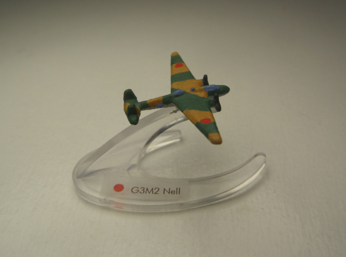 G3M2 Nell 1:900 3d printed Comes unpainted without stand.