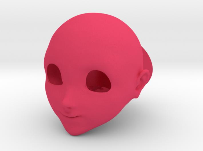 "BJD Anime head ""Sakura"" SD (1/3rd) 3d printed"