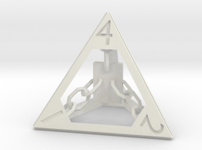 Wizard D4 3d printed