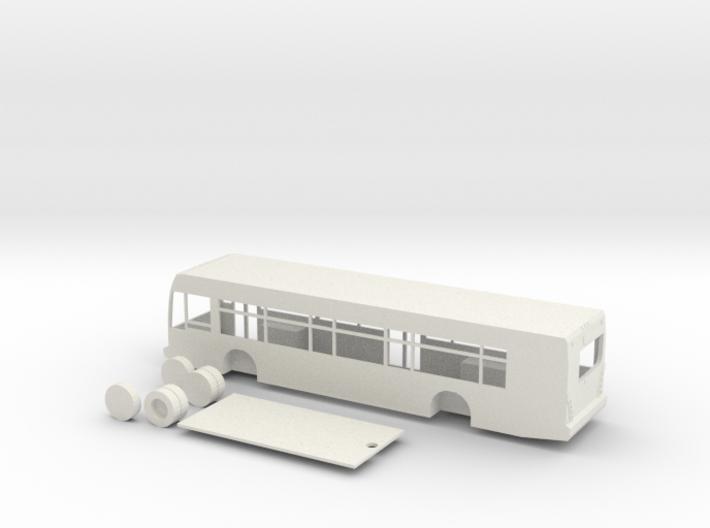 HO scale van hool a330 bus 3d printed