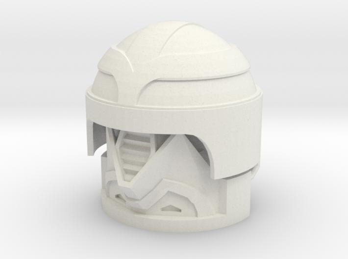 1:6 Scale Enemy Field Engineer Helmet 3d printed