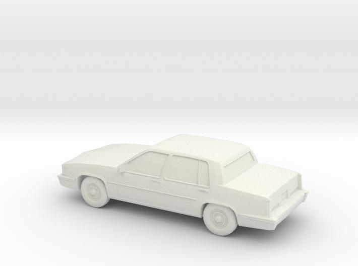 1/87 1987 Cadillac De Ville 3d printed