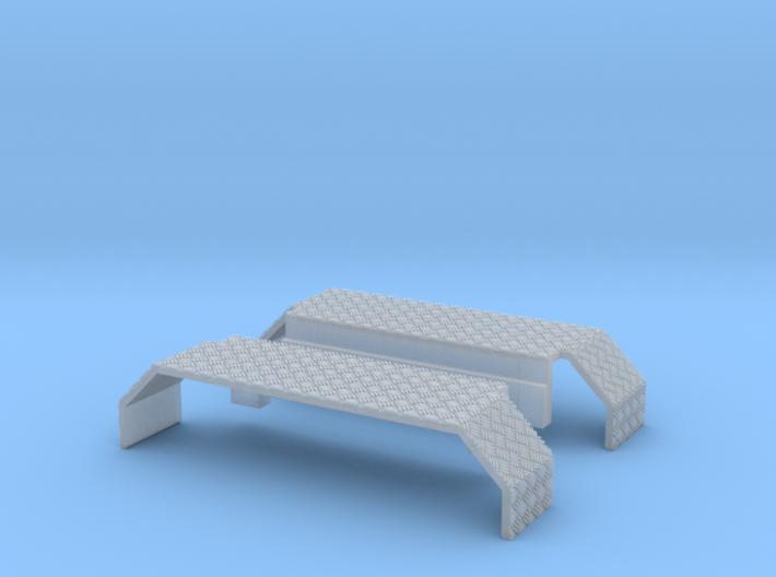 Kotflügel mit Riffelblech für Herpa Zetros 3d printed