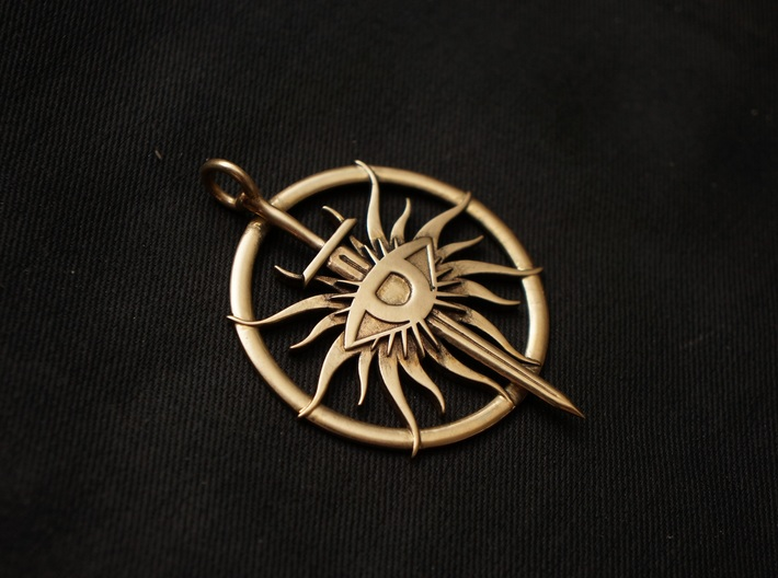 Pendant of The Inquisitor 3d printed
