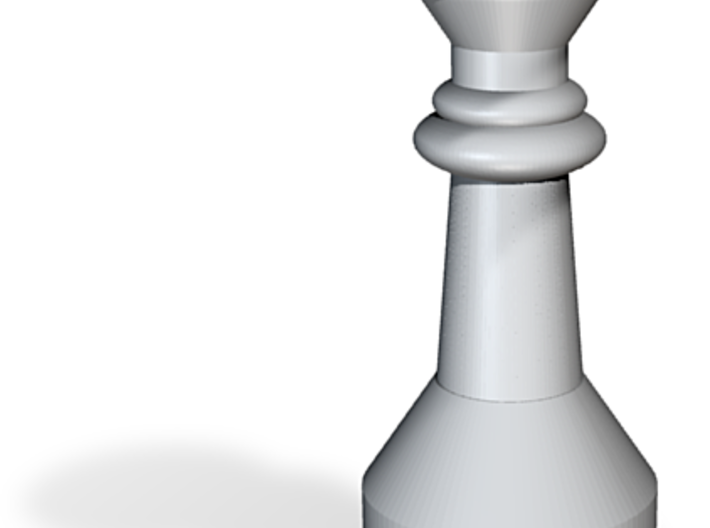 Chess Queen Figure 3d printed