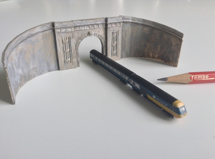 Middle Hill Tunnel (Spur T / T Gauge) 3d printed