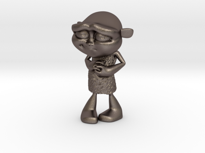 Gus Figurine - Medium - Metal 3d printed