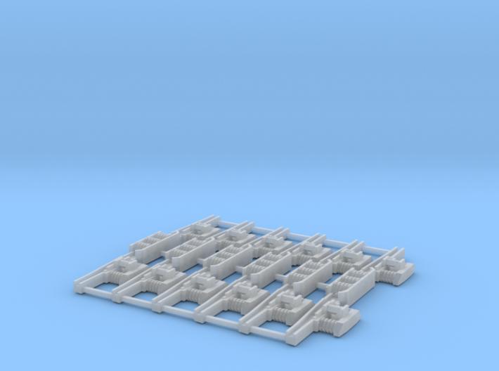 1:64 Ef Class Bogie Side Frames (6) 3d printed