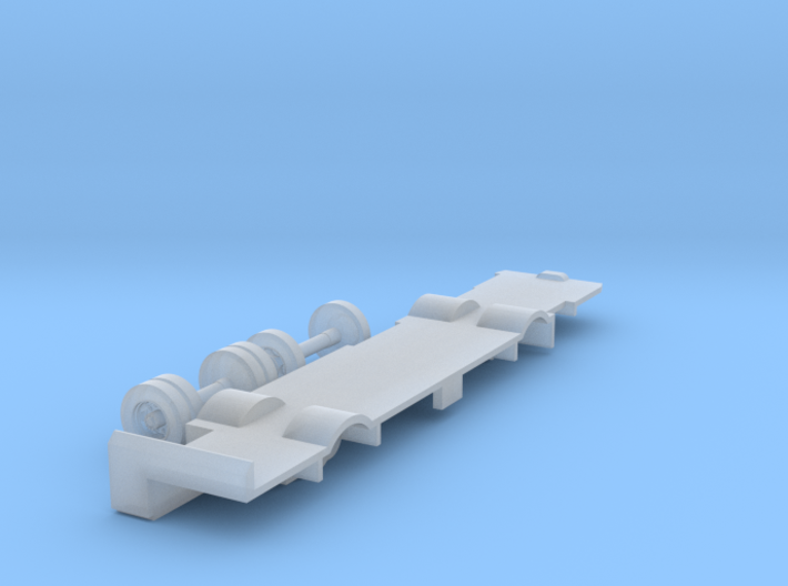 N scale Bus Dummy Chassis 3d printed