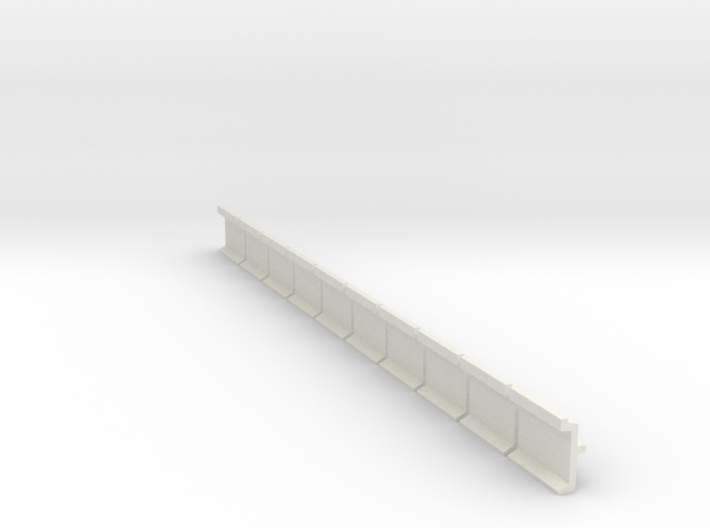 N Scale Platform Wall 10pc 3d printed