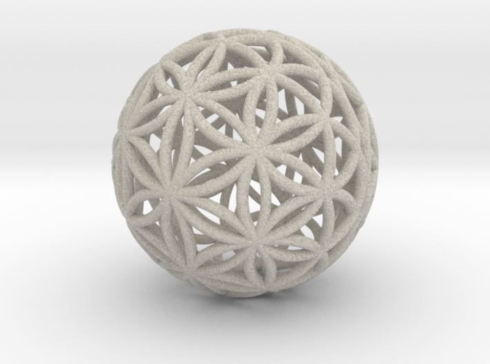 3D 33mm Orb Of Life (3D Flower of Life) 3d printed