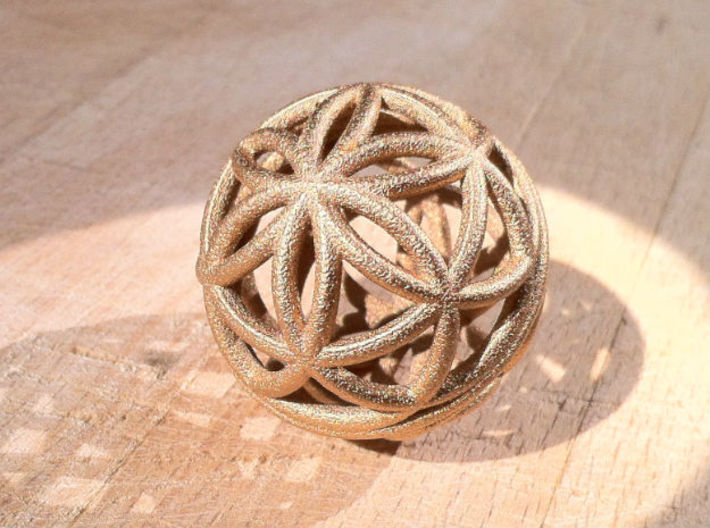 3D 50mm Orb of Life (3D Seed of Life) 3d printed