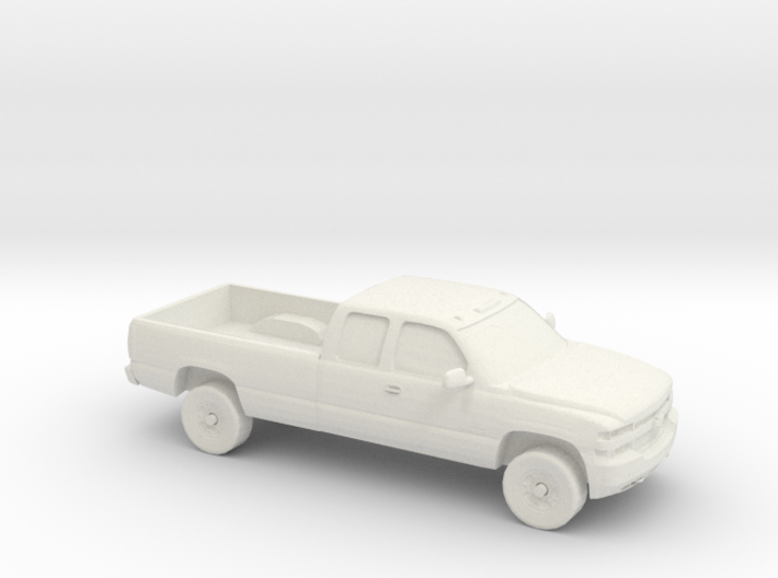 1/87 1999-02 Chevrolet Silverado Duramax Ext. Cab 3d printed
