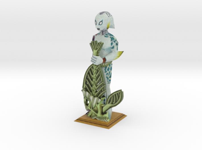 LARGE Zora Statue from Zelda Majora's Mask 3d printed