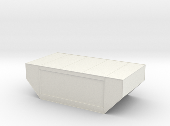N Scale LD-29 air cargo container 1:160 3d printed
