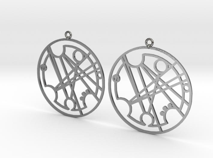 Frances - Earrings - Series 1 3d printed